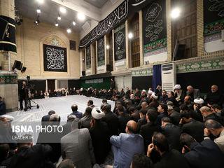 مراسم عزاداری حضرت اباعبدالله الحسین (ع) در شب تاسوعا
