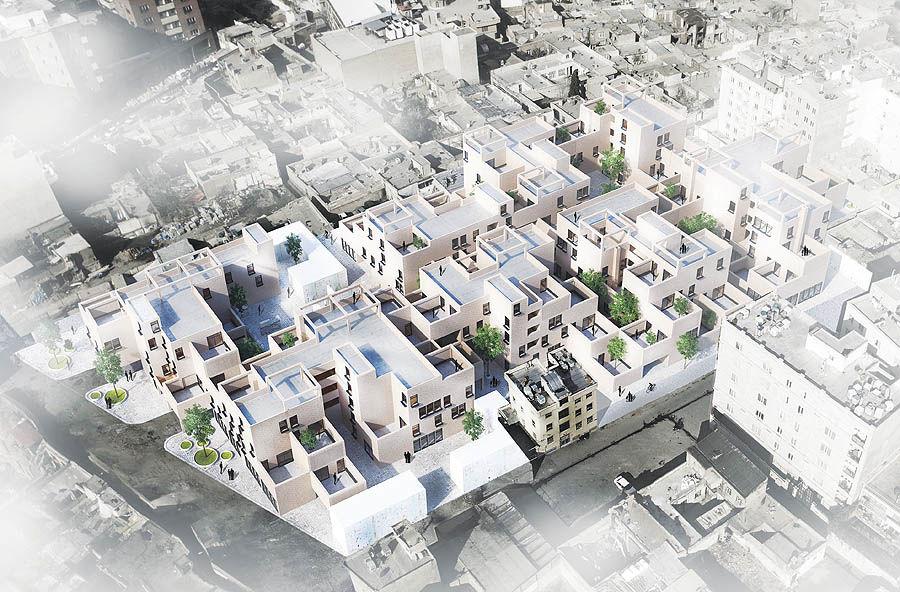 بازآفرینی قلمروهای عمومی محورها و مراکز محله ای و شهری