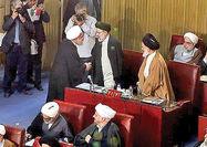دیدار روحانی و رئیسی در حاشیه اجلاس خبرگان