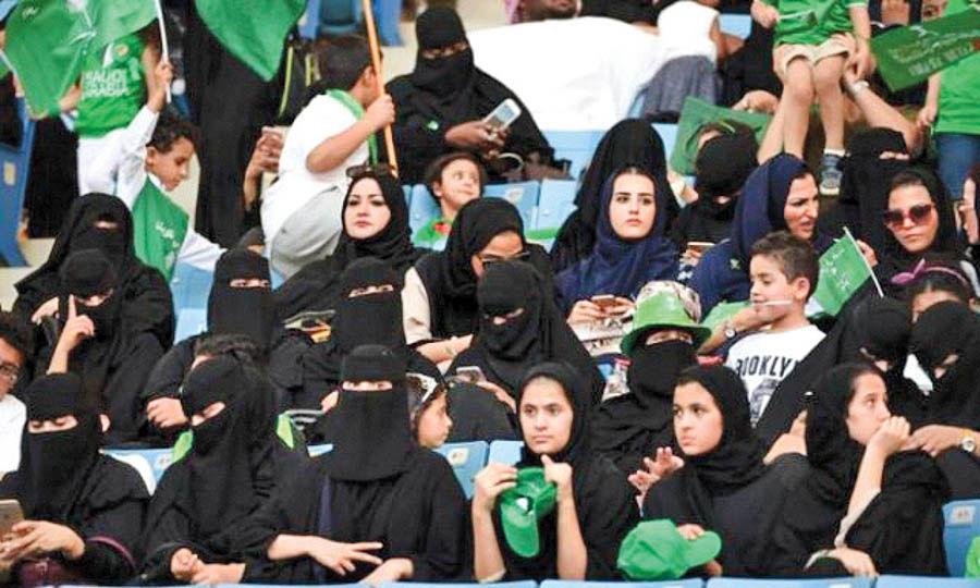 زنان عربستانی درهمه ورزشگاهها