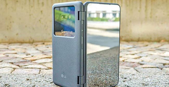 تازهترین گوشی الجی با دو نمایشگر