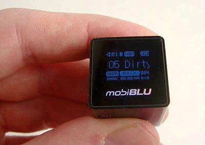 کوچکترین MP3 PLAYER دنیا با ابعاد مکعبی