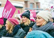 اخلال در شبکه تلفن همراه واشنگتن به دنبال تظاهرات زنان