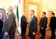 تسلیت سفرای خارجی مقیم تهران  به ظریف