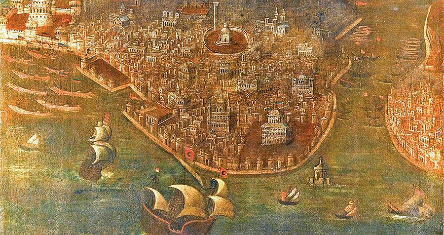 پایان روم بیزانس
