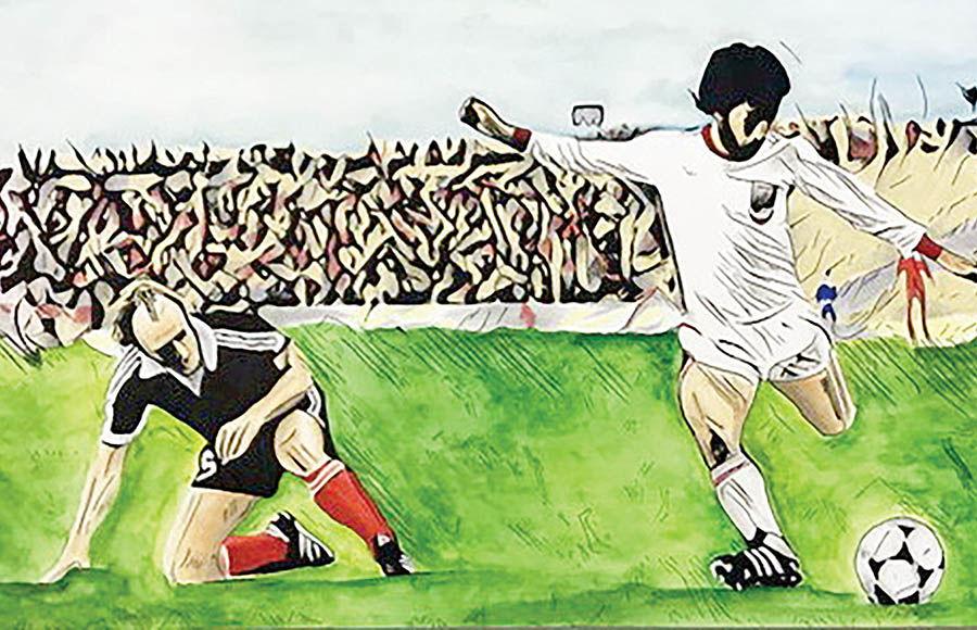 «به سلامتی فوتبال» در گالری بهارستان