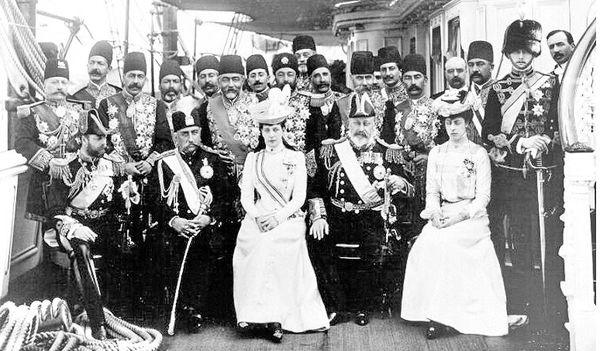 مرگ مظفرالدین شاه در پی مشروطه