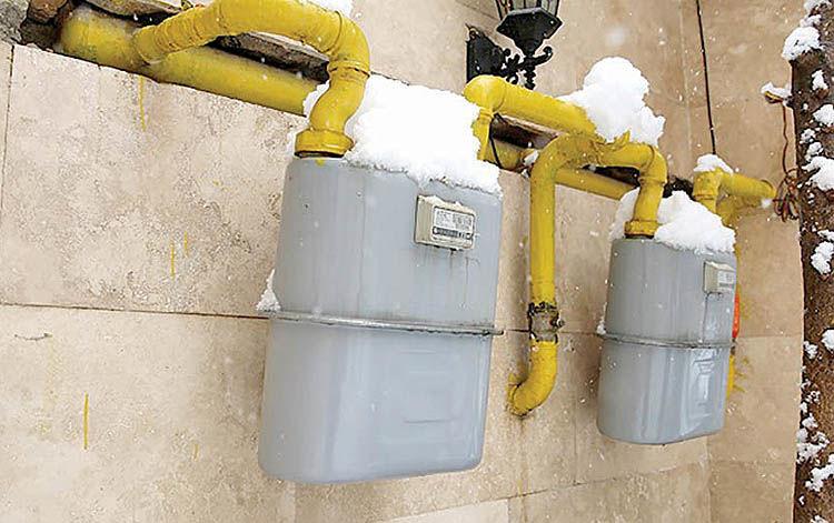 بارش برف، مصرف روزانه گاز خانگی را به ۵۰۰ میلیون مترمکعب رساند