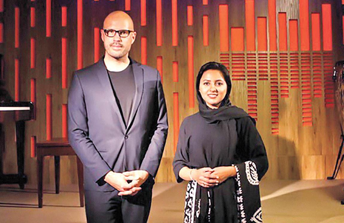 حضور یلدا عباسی در تور بینالمللی گروه «شیلر»