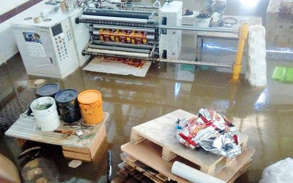 خسارت صنعتی سیل خوزستان