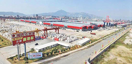 نمایشگاه سنگ شویتو چین  میزبان صادرکنندگان برجسته ایرانی