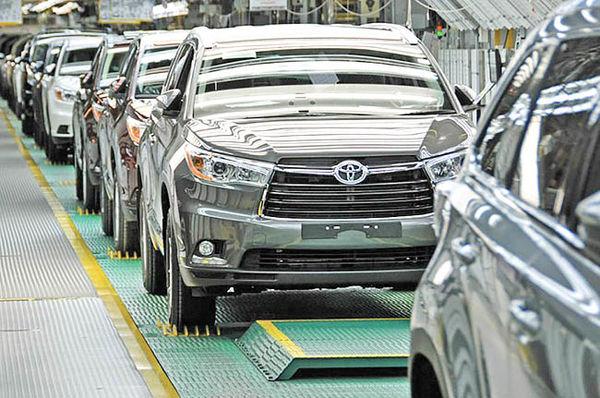 توقف تولید تویوتا در ژاپن بهخاطر زلزله