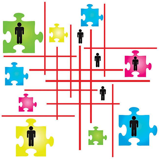 بهبود کارآیی با ایجاد تیمهای کوچکتر
