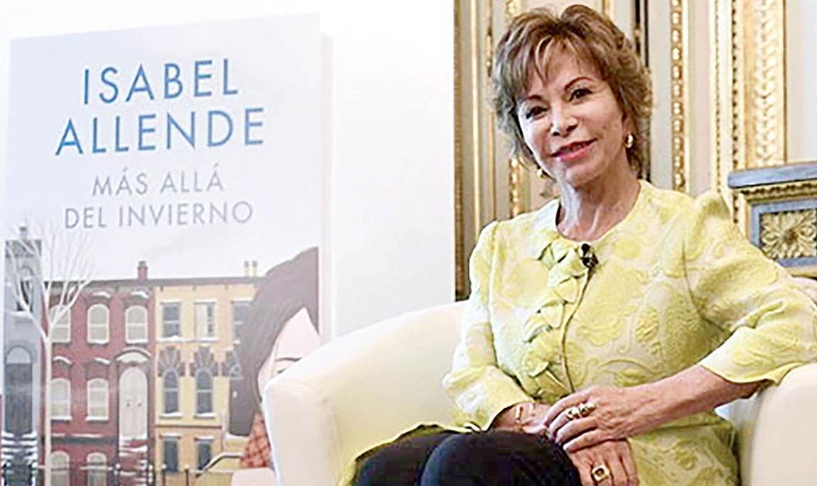 ایزابل آلنده برنده جایزه کتاب ملی آمریکا شد