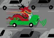 مسیر متفاوت خودروهای خودران چینی