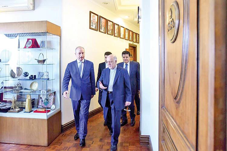 وزیران نفت ایران و سوریه بر توسعه همکاری میان دو کشور تاکید کردند