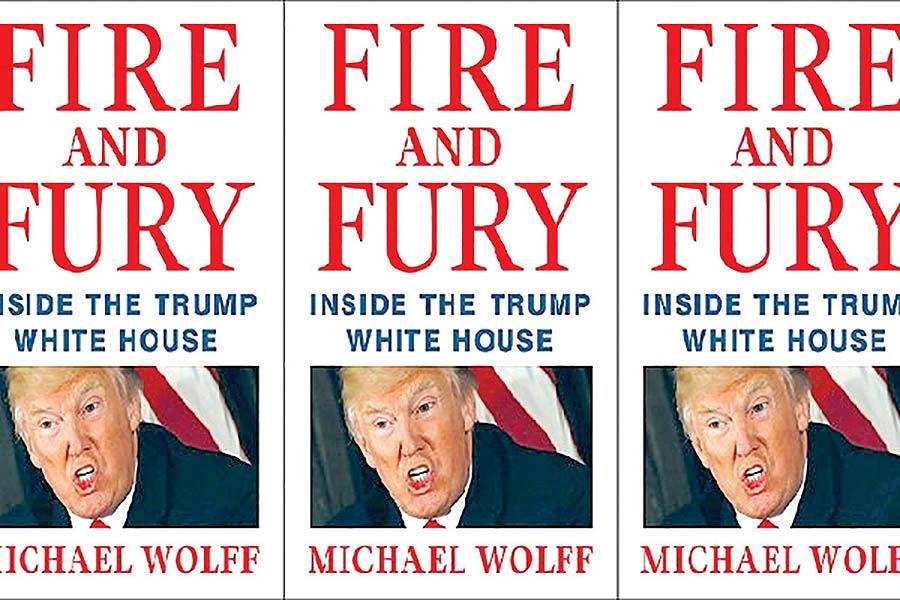 کتاب پرفروش علیه ترامپ سریال میشود