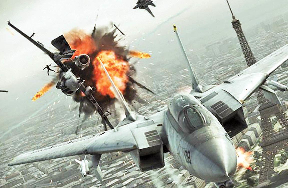 بازی واقعیت مجازی Ace Combat 7 برای پلی استیشن
