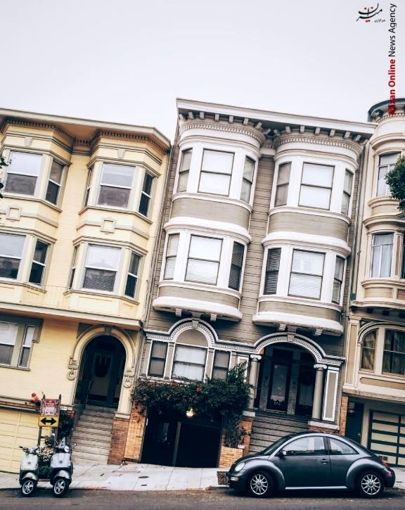 خانههای عجیب سانفرانسیسکو! +تصاویر