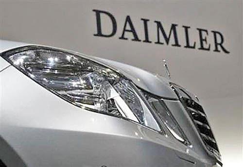 دایملر شریک تازه ولوو