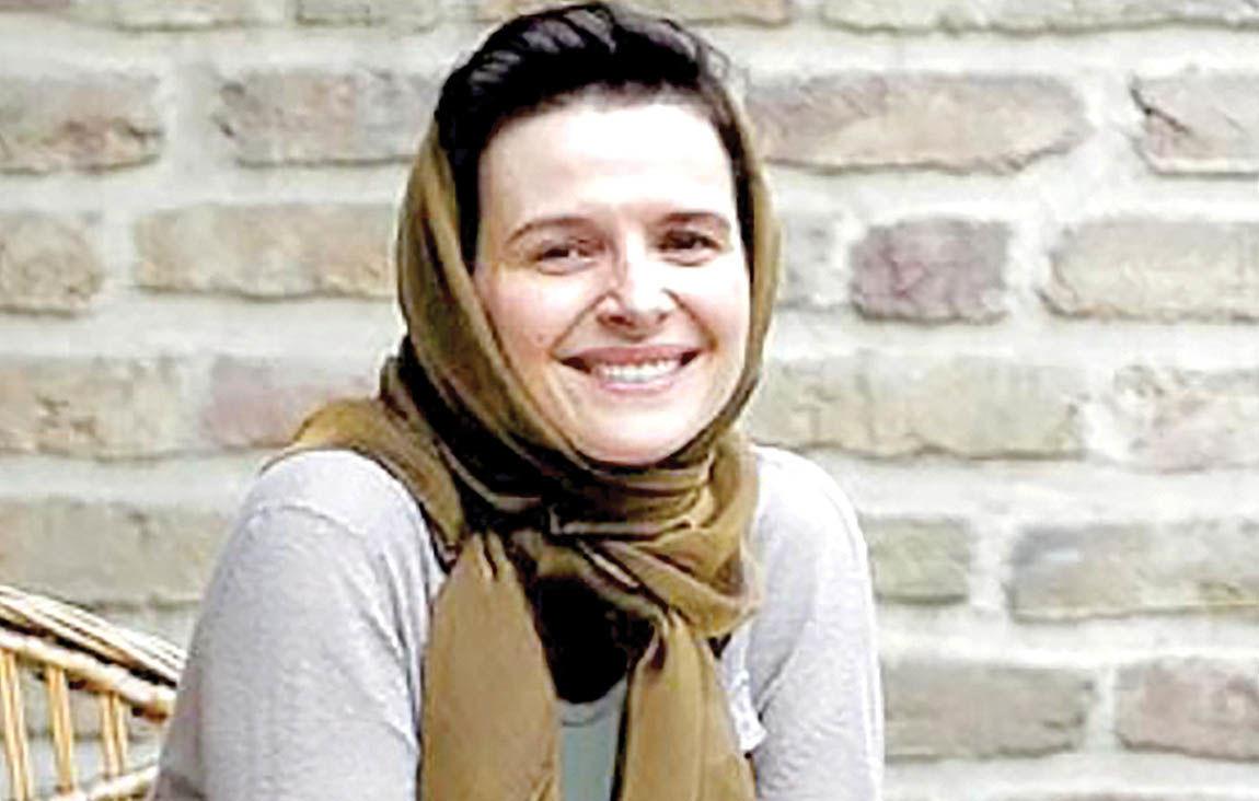 اهدای جایزه دستاورد اروپایی به ژولیت بینوش