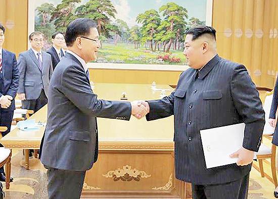 پایان وضعیت جنگی در مرز دو کره
