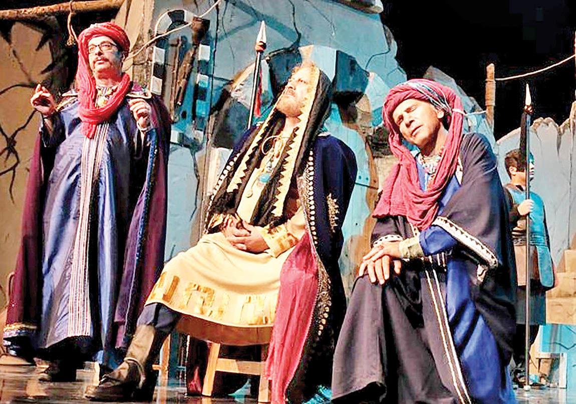 «خاتون» روی صحنه تئاتر شهر
