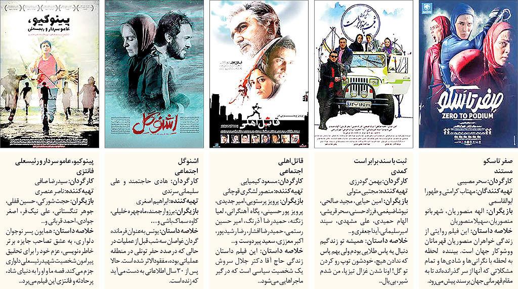 ترافیک شدید اکران در سینما