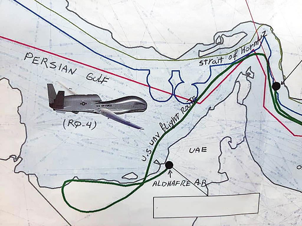 پرش نفت با سقوط پهپاد