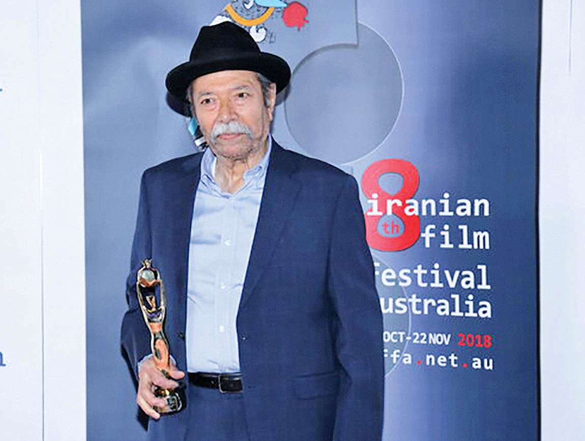 تقدیر از علی نصیریان در جشنواره فیلمهای ایرانی استرالیا