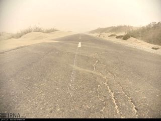 توفان شن در سیستان