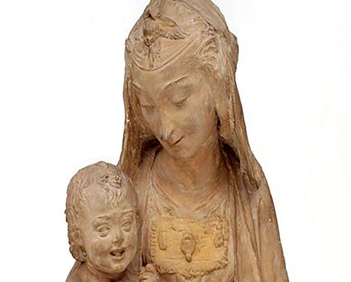 به نمایش گذاشتن تنها مجسمه موجود از لئوناردو داوینچی