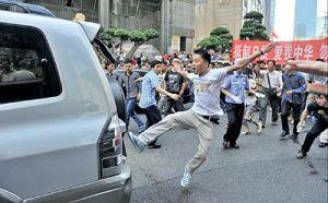 قهر چینیها با خودروهای ژاپنی