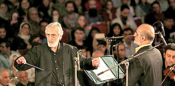 «حدیث سرفرازی» ارکستر ملی با صدای محمد اصفهانی