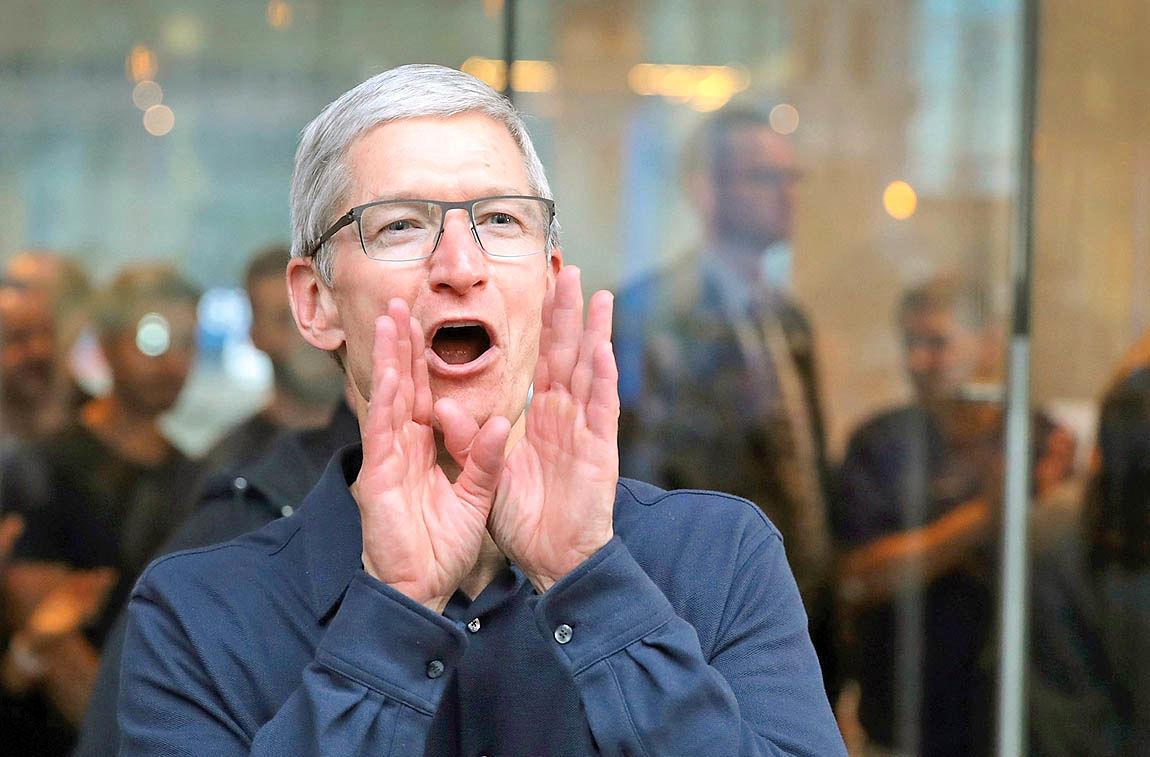 ادامه حاکمیت اپل بر دلهای مردم دنیا