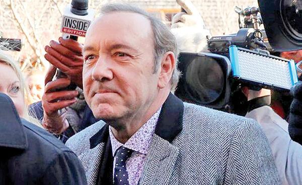 احضار کوین اسپیسی به دادگاه برای نخستینبار
