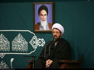 مراسم عزاداری شهادت حضرت فاطمه زهرا(س) با حضور رهبر انقلاب