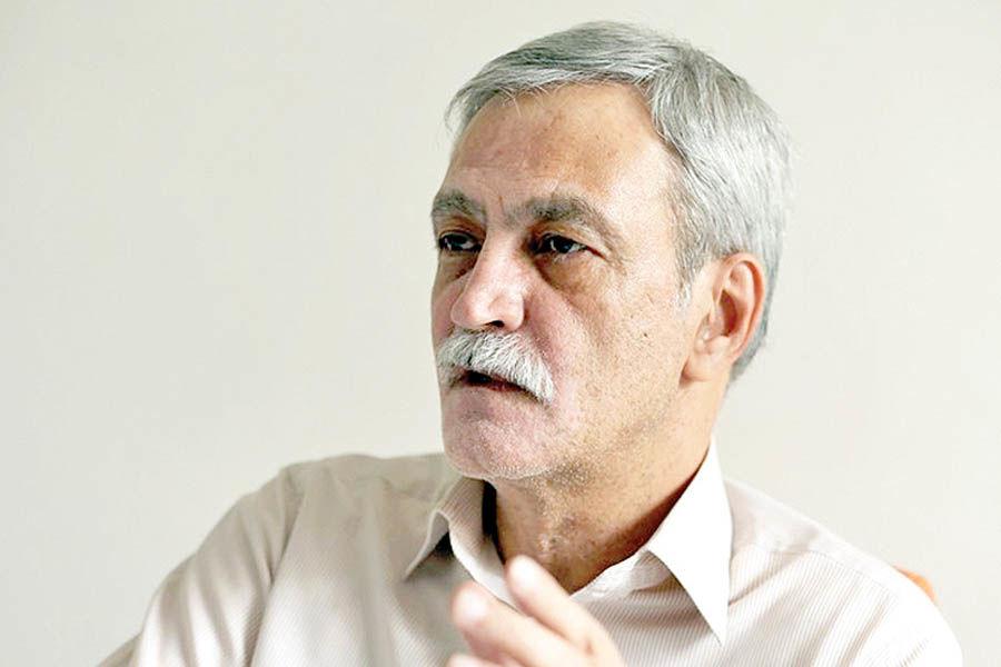 تشییع پیکر محمدامین قانعیراد از دانشگاه تهران