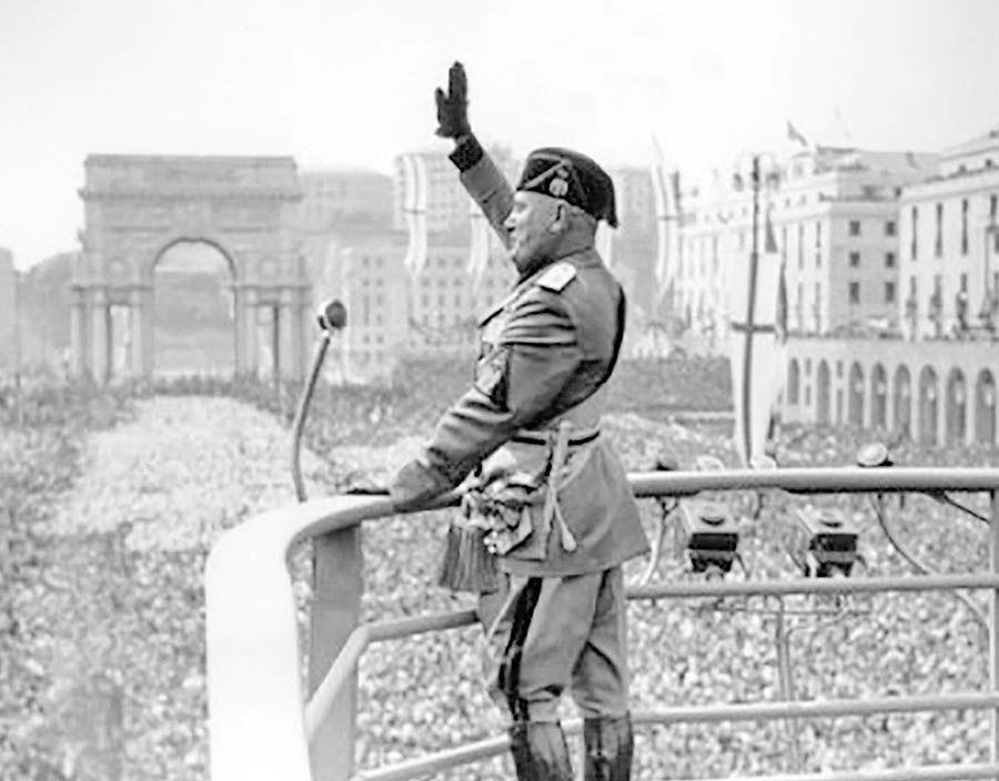 برقراری فاشیسم ایتالیایی