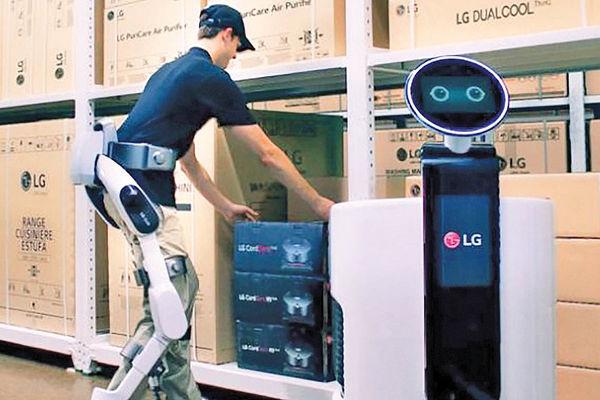 روبات پوشیدنی