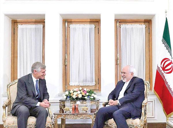 دیدار قائم مقام وزیر خارجه اتریش با ظریف