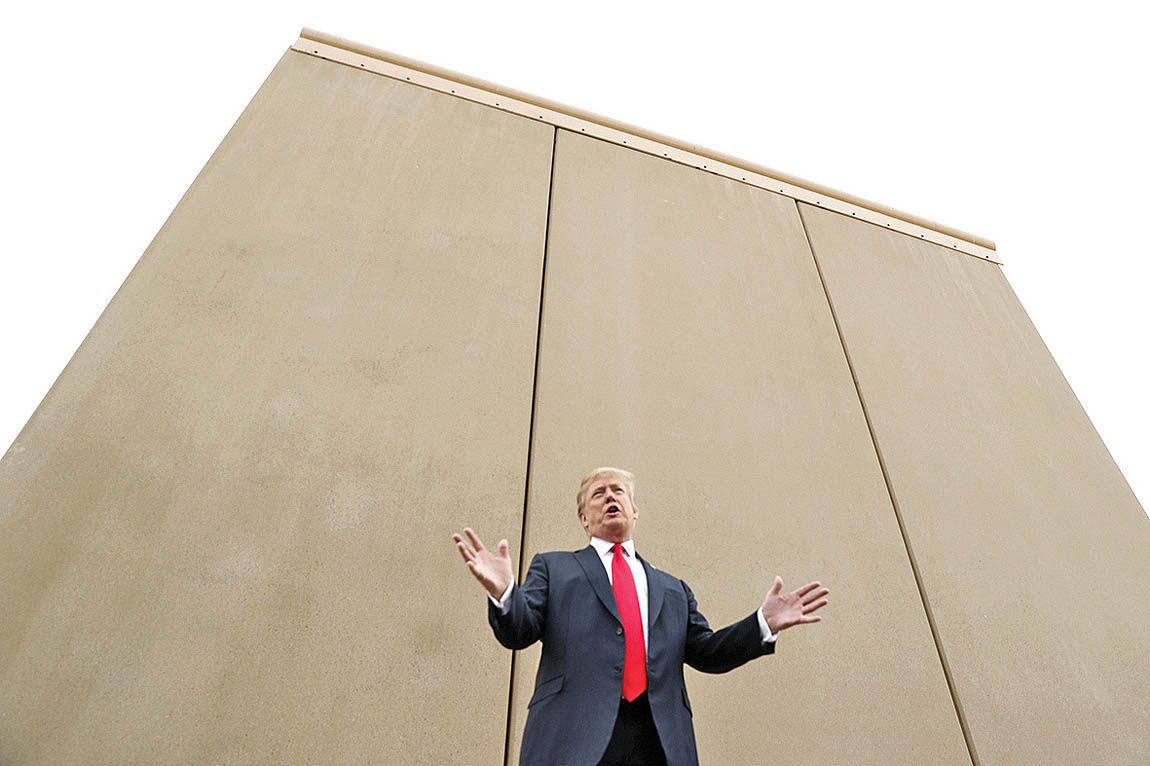 دیوار تکنولوژی، جایگزین دیوار مرزی ترامپ