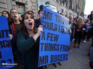 تظاهرات علیه ترامپ