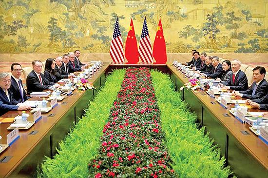 توافقات و اختلافات چین و آمریکا