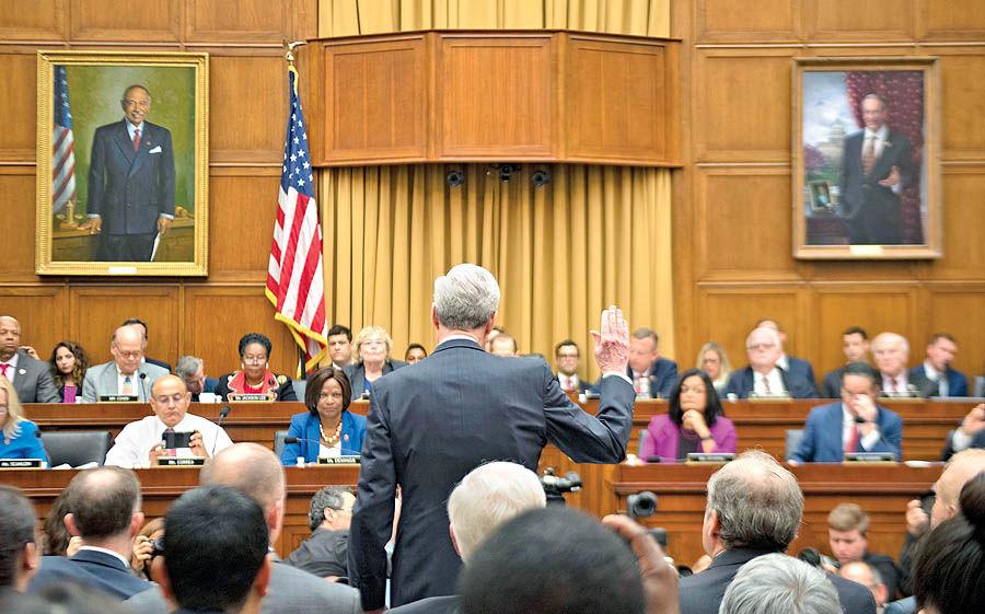 مولر در مجلس نمایندگان شهادت داد افزایش موافقان استیضاح ترامپ
