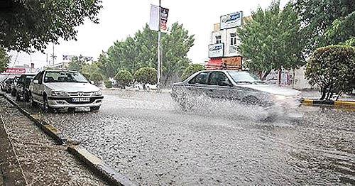 کمبارش و پربارشترین حوضههای آبریز