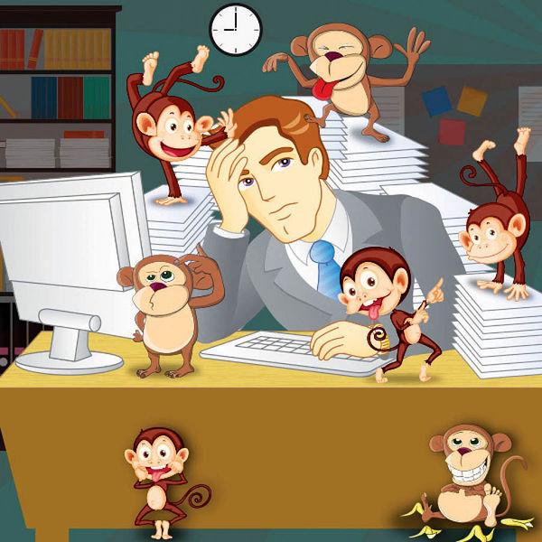 مدیریت میمونی راهنمایی برای کارآفرینی
