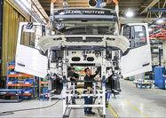 افت سنگین تولید خودروهای تجاری