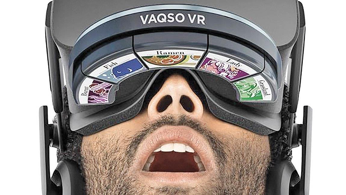 تجربه عطرهای مختلف با هدست واقعیت مجازی