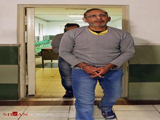 لحظاتی پیش از اجرای حکم اعدام سلطان سکه